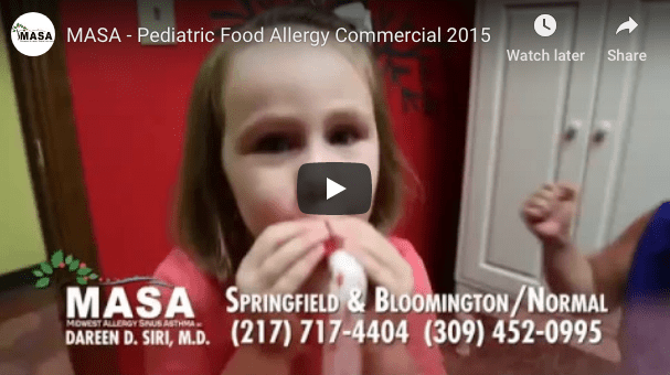 Pediatric Food Allergy Commercial