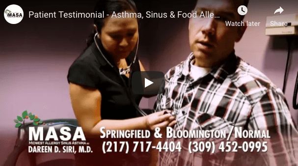 Patient Testimonial – Asthma, Sinus, and Food Allergy Commercial