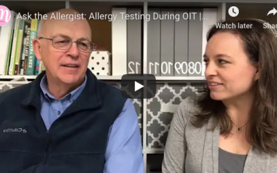 Dr. Kaufmann Discusses Allergy Testing During OIT