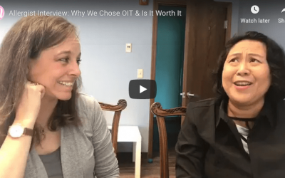 Dr. Siri Discusses OIT with the Milk Allergy Mom